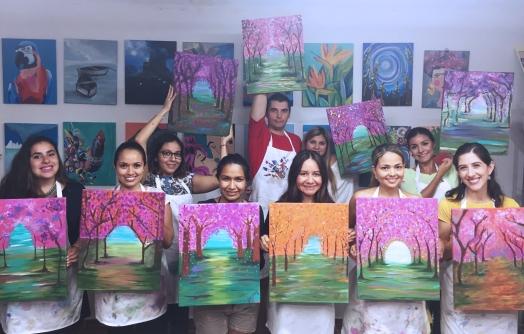 Pinta y Tinto - Cerezos