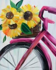 Bici flores