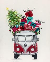 van navideña
